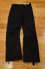 SPYDER Dermizax-Ev Mens Black Ski Snow Spylon Pants Size S Winter Sports