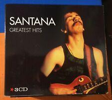 Santana – Greatest Hits 3 CD 2012 Flashback Editoriale Gruppo Arnoldo Mondadori