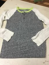 Boys Crewcuts Long Sleeve Tops VGUC Size 6/7