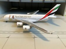 """Herpa Wings 531535 Emirates Airbus A380 """"Year of Zayed"""", 1:500"""