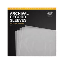 More details for mobile fidelity sound lab mfsl archival outer sleeves (50 pack) - album lp cover