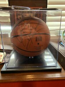 Dennis Rodman Autographed Basketball With Picture