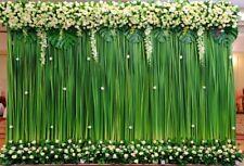 Green grass wedding Vinyl Photography Backdrop Background Studio Photo Prop