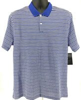 Nike Dr-FIT Victory Golf Polo Shirt Blue Striped BV0367-480 $55 Men's Size Large
