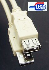 USB / USB2.0 A to A(socket) Extension Cable / Lead, A-male to A-female, 1M