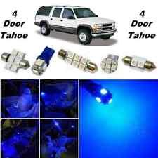 18x Blue LED lights interior package kit for 1992-1999 4 door Tahoe/Yukon CT7B