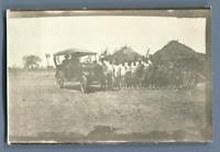 Afrique Occidentale, Groupe des indigènes  Vintage silver print. Africa. Vintage