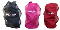 Heavy Duty Football Netball Rugby 12 Ball Carry Sack Holdall Bag Brand New