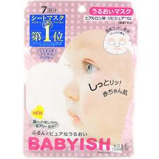 Kose Japan Clear Turn Babyish Moisture Face Mask (7 sheets/83ml) - Award No.1