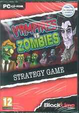 Vampires Vs Zombies Fight Back A Zombie Invasion PC Strategy Game NEW XP Vista 7