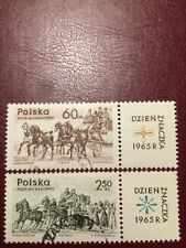 Poland Stamps 1965 USED The Day Of The Stamp