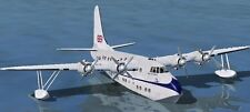 S-45 Solent Short Passenger S45 Airplane Wood Model Replica Small Free Shipping