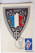 Yt 1907 POLICE NATIONALE    FRANCE CARTE MAXIMUM 1° JOUR FCP