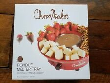 Choco Maker Chocolate Fondue Set Electric Melter New
