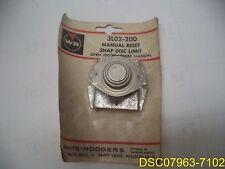 White Rodgers Manual Reset Snap Disc Limit Control L200 3L02-200