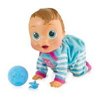 Muñeco Bebe Interactivo 12 Funciones 2 Accesorios 3 Niveles Aprendizaje Juguete