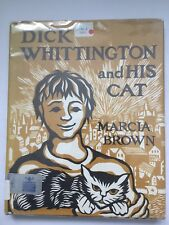 Dick Whittington and His Cat MARCIA BROWN hcdj 1950