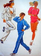 S 6620 Sew Pattern Ms Top Pants Shorts Jacket Knits Exercise Jog Sweats 10-14 Uc