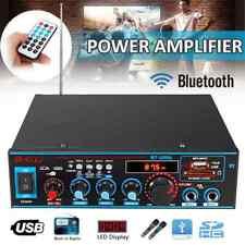 12V/220V 800W HiFi Bluetooth Audio Auto Amplifier Verstärker Stereo USB FM O2O