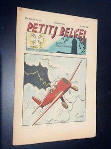 RARE Fascicule périodique N° 25 1942 Petits belges Blondin et Cirage Jijé