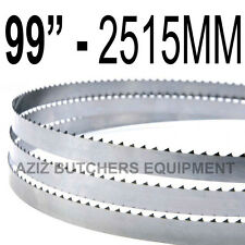 "Butchers Meat Bandsaw Blades (5 Pack). 99"" (2515mm) X 5/8"" X 4tpi"