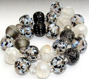 "Sistersbeads ""B-Classic"" Handmade Lampwork Beads"