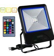 LEDGLE 60W LED Flood Lights RGB Floodlight Waterproof Outdoor Lights with Remote