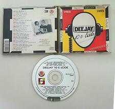 RADIO DEEJAY 10 E LODE RARA CD 1982 1992