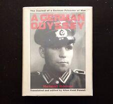 A GERMAN ODYSSEY, Helmut Horner, 1st ed., 1991, HC/DJ VG (Nazi Germany)