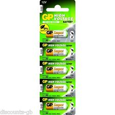 5 x GP 23A 12V Alkaline Batteries 8LR932 8LR23 MN21 Garage Door Bell battery