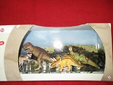 Schleich® WORLD OF HISTORY 41400 SCENERY PACK™ 4 Dinosaurier Figuren NEU OVP