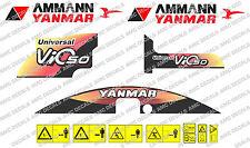 Yanmar Vio 50 bagger-aufkleber-aufkleber-satz