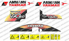 YANMAR VIO 50 Digger Decalcomania Sticker Set
