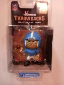 NFL Lil Teammates-Throwbacks Series 3-Oilers Quarterback. Collectible Figure!!