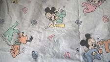 drap housse disney baby's mickey C.T.I FRANCE