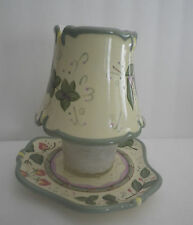 Partylite sTrawberry Decorative Shade & Plate