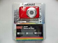 Polaroid i20X29-RED-WM 20MP/10x Optical Zoom Camera NEW in Open Package