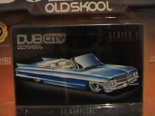 1962 CADILLAC SERIES 62 DUB CITY OLDSKOOL 1:64 SCALE DIE-CAST METAL