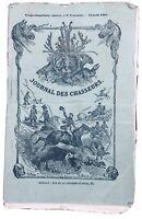 Chasse Lac du Bourget 1861 Alpes Savoie Mouflons Constantine Algérie Chambéry