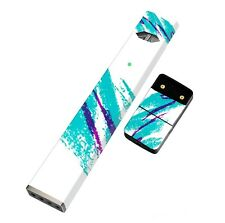 Skin Decal Wrap Skin for 4JUUL | Full Wrap Covers Everything (Jazz Cup Design)