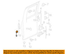 GM OEM Door-Lock Striker 21090040