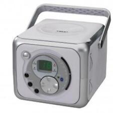 Jensen CD-555 Portable Music System - Silver