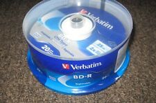 New Verbatim BD-R LTH Type Registrable 20 pack