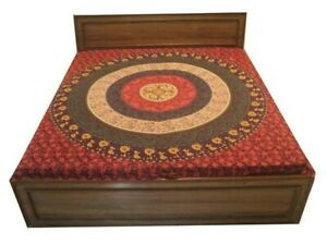 QUEEN MANDALA TAPESTRY WALL DÉCOR ART HANGING THROW COTTON BEDSPREAD COVERLET