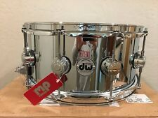 DW Collector's Series 6.5x14 Steel Chrome Polished Snare Drum w/Chrome Hardware