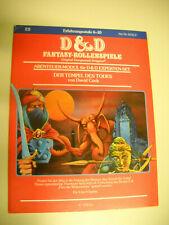D&D Dungeons and Dragons - Der Tempel des Todes - wie neu!
