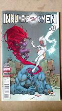 Inhuman Vs X-Men #0 First Print Marvel Comics (2017) Storm Medusa Beast