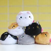 "3"" Neko Atsume Kitty Cat Plush Dango Stuffed Doll for Japanese Game Random Color"