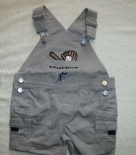 FLORIDA MARLINS BIB OVERALL SHORTS*SIZE 6-9 MONTHS*NEW W/TAG