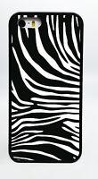 ZEBRA PRINT ZOO BLACK PHONE CASE COVER FOR IPHONE 7 PLUS 6S 6 PLUS 5C 5S 5 4S 4